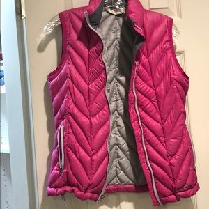 Eddie Bauer Hot Pink Down vest